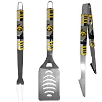 NCAA Iowa Hawkeyes Tailgater BBQ Tool Set (3 Piece)