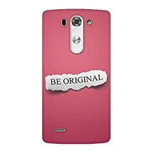 Cool Be Orignal Back Case Cover for LG G3 Mini