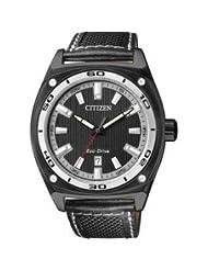 Citizen Eco-Drive Analog Black Dial Men's Watch AW1050-01E