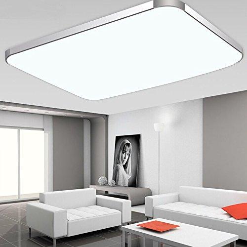 SAILUN 48W Warmweiss Kaltweiss Dimmbar LED Modern Deckenleuchte Deckenlampe Flur Wohnzimmer Lampe Schlafzimmer Kche Energie Sparen Licht 85V 265V 50HZ