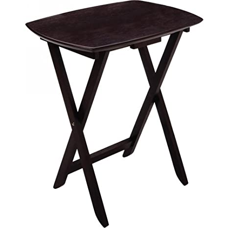 Set of 4 Single TV Tables Oversized 92124