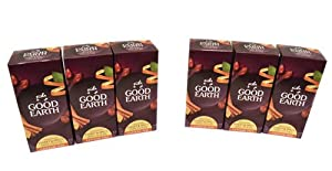 Good Earth Original Sweet and Spicy Herbal Tea Blend 6 Pack Caffeine Free