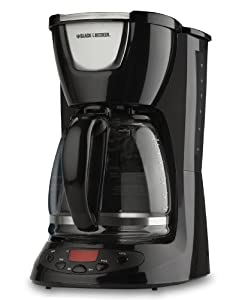 Black And Decker Coffee Maker Timer Instructions : Amazon.com: Black & Decker DLX850 12-Cup Drip Coffeemaker, White: Black And Decker Coffee Maker ...