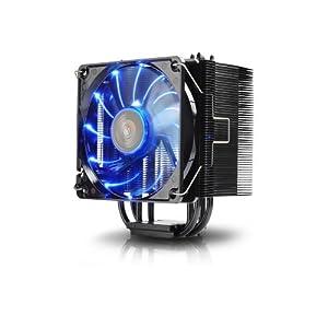 Enermax ETS-T40-BK Twister CPU-Kühler für Sockel LGA 775/1150/1155/1156/1366/2011/AM3+/AM2+/FM1/FM2 schwarz