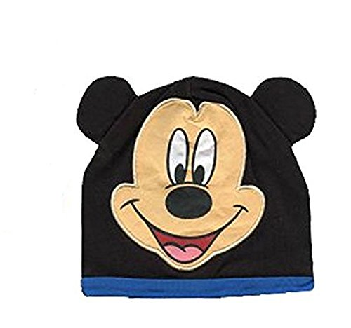 Mickey Mouse Infant Hat! Features Mickey's Face with Baby Blue Trim!