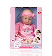 My Little World My Baby Sounds Doll Toy [T79-9498Z-S]