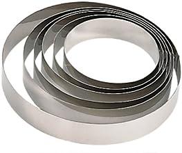 De Buyer 3989.10 Cercle Rond inox - ht. 4,5 cm - Ø 10 cm