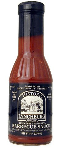 ... Whiskey Brand Historic Lychburg Tennessee Whiskey Barbecue Sauce 100