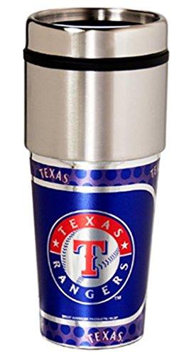 Texas Rangers Stainless Steel MLB Travel Tumbler Coffee Mug