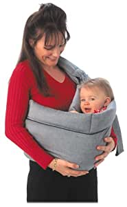 Crown Crafts The Original NoJo BabySling by Dr. Sears - Black Chambray (Discontinued by Manufacturer)