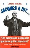 echange, troc Jérôme Duhamel - Jacques a dit ...