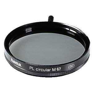 Hama Polarisations-Filter circular, 67,0 mm, einfach vergütet, Fassung schwarz