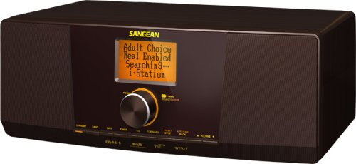 Sangean WFR-1 Table-Top WiFi Internet Radio with FM-RDS (Dark Brown)