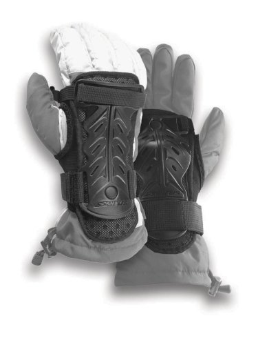 Seirus Innovation 5658 Jam Master II Adjustable Over Glove Wrist Protection to Prevent Injury