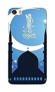 CimaCase Half Moon & Mosque Designer 3D Printed Case Cover For Xiaomi Mi 5