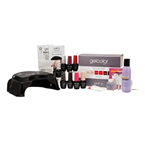 OPI LED Professional Salon Nail Lamp Manicure Gel Polish The Icon Intro Kit UV