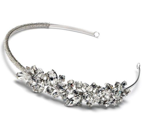 Vintage Inspired Side Ornament Wedding Headband 3044
