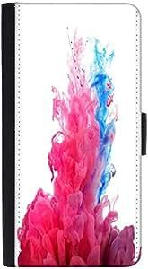 Snoogg Colour Burstdesigner Protective Flip Case Cover For Htc One X