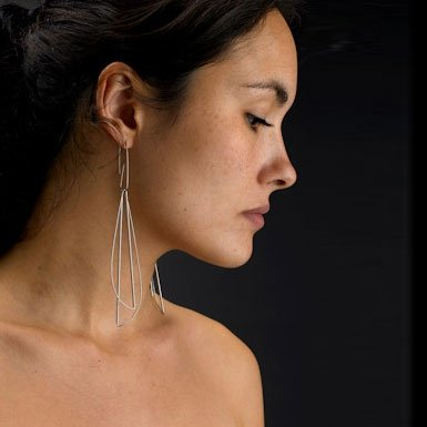 Double Loop Earrings by Miranda Watkins||RF10F