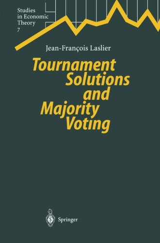Tournament Solutions and Majority Voting (Studies in Economic Theory)