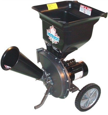 Patriot Products CSV-2515 14 Amp Electric Wood Chipper/Leaf Shredder