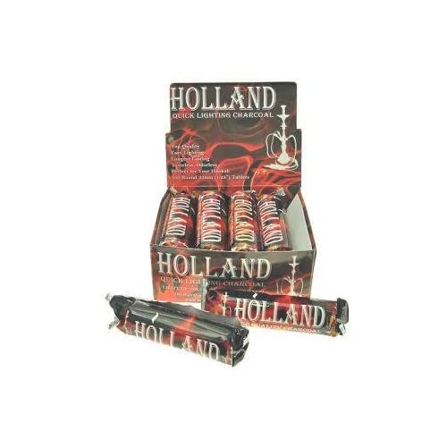 Holland Coals Shisha Coals 1 Box of 10 Rolls