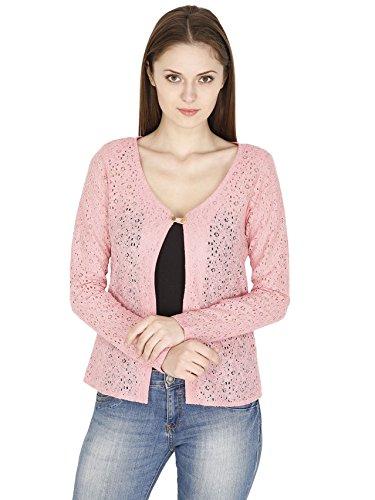 Pinaki Pink Polyester Blazer For Women – PHB-001