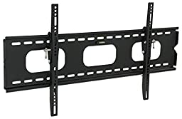 Mount-It! MI-318L Low-Profile Tilting TV Wall Mount Bracket for 42 - 70 inch LCD, LED, OLED, 4K or Plasma Flat Screen TVs - 220 lbs Capacity, 1.5 Inch Profile, Max VESA 850x450