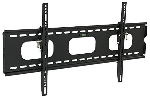 Mount-It! MI-318L Low-Profile Tilting TV Wall Mount Bracket for 42 – 70 inch LCD, LED, OLED, 4K or Plasma Flat Screen TVs – 220 lbs Capacity, 1.5 Inch Profile, Max VESA 850×450