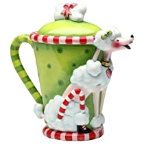 Appletree 8-Inch Rubys by Babs Ceramic Teapot