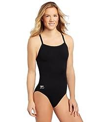 Speedo Women's Race Endurance+ Polyester Flyback Training Swimsuit