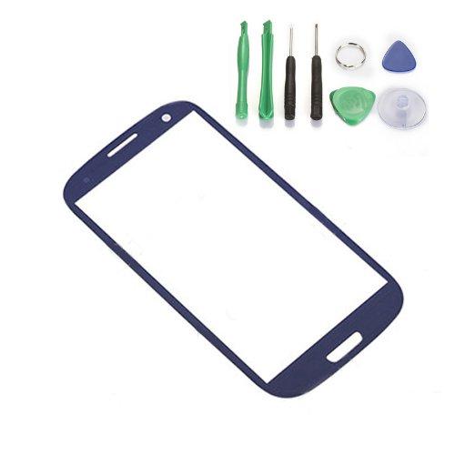 Generic For Samsung Galaxy Siii I9300 / Screen Glass Lens - Dark Blue