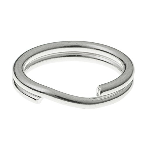 Dreambell .925 Sterling Silver Round 12mm 16 ga Gauge / 1.3mm Wire Key Split Jump Ring Connector Charm Holder (12mm Split Rings compare prices)