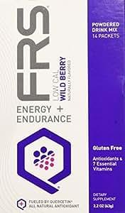 FRS Healthy Energy Low Calorie Wild Berry Powder, 2.2 ounces Boxes
