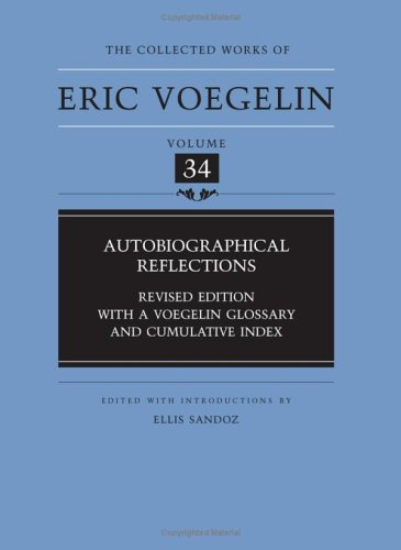 voegelin published essays This volume of the collected works contains essays that were published by voegelin from 1922 to 1928, the period immediately following his doctoral studies and.