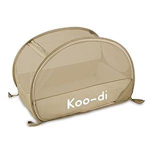 Koo-di 100 x 60 x 58 cm Pop Up Travel Bubble Cot (Cafe Crème)