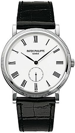 patek-philippe-calatrava-automatic-white-dial-18-kt-white-gold-mens-watch-5119g