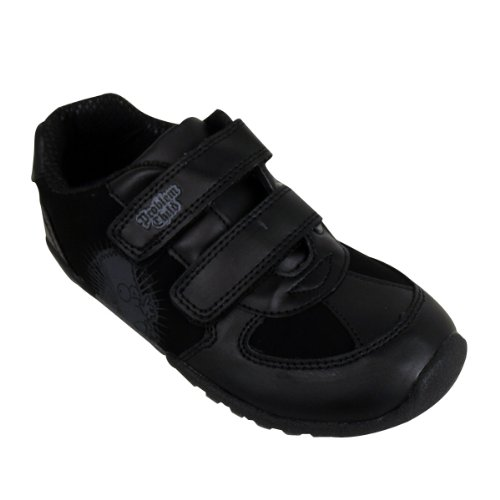 Kids Boys The Simpsons Black Trainer Infants Velcro School Trainers Shoes UK 8-2