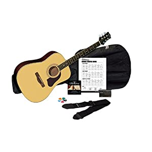 Silvertone SD3000PAK NA Acoustic Guitar Pack - Natural