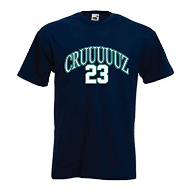 "Nelson Cruz Seattle Mariners ""CRUUUUUZ"" T-Shirt"