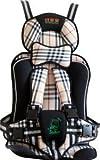 Baby-Autositz Baby-Kleinkind tragbare Auto-Sicherheits-Zusatzsitzabdeckungs-Harness Cushion.Baby Car Safety Kissen (Khaki)