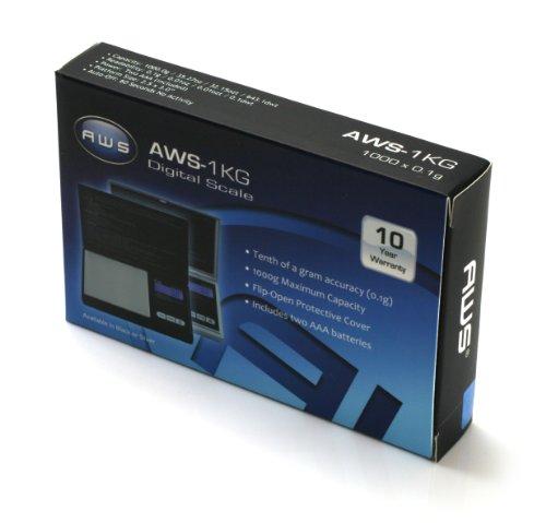 AMW SIGNATURE SERIES 1000 X 0.1G ARGENT