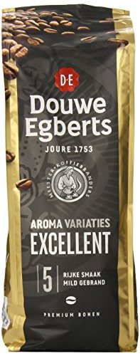 Douwe Egberts Excellent Aroma Whole Beans Coffee, 17.6-Ounce Package