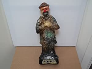 JIM BEAM-THE ORIGINAL EMMETT KELLY THE CLOWN LIQUOR BOTTLE
