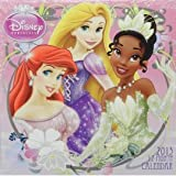 Disney Princess 2013 12 Month Wall Calendar