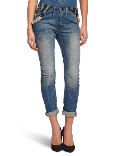 G-Star Basics Damen Tapered Jeans Jeans, Gr. 33W/32L, Blau