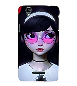 Ebby Premium Printed Mobile Back Case Cover With Full protection For YU Yurekha (Designer Case)