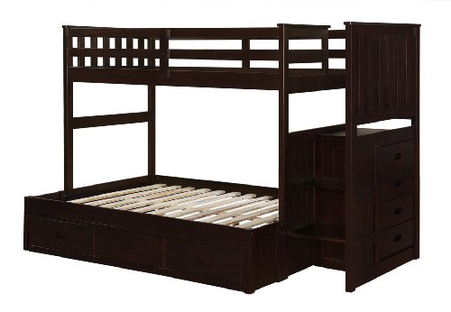 Bunk Beds Twin Over Full 2029 front