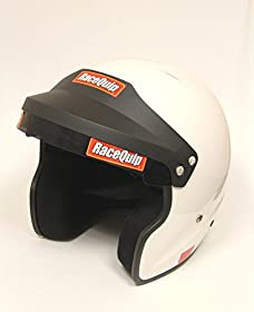 RaceQuip 252116 SA-2010 X-Large White Open-Face Helmet