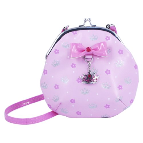 Pink Poppy Sweetness and Charms Shoulder Bag (Pale Pink) - 1